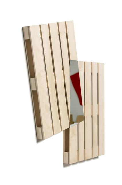 , 'Mirror Wall Pallet 01,' 2019, Galerie Nikolaus Ruzicska