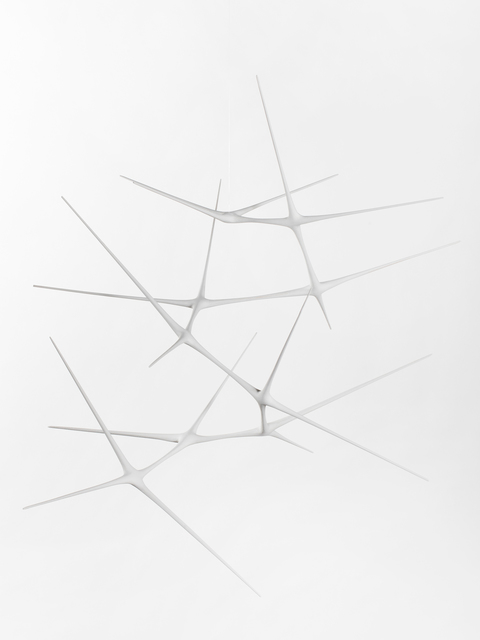 , 'Untitled #6 (White Suspended Sculpture),' 2018, Patrick Parrish Gallery