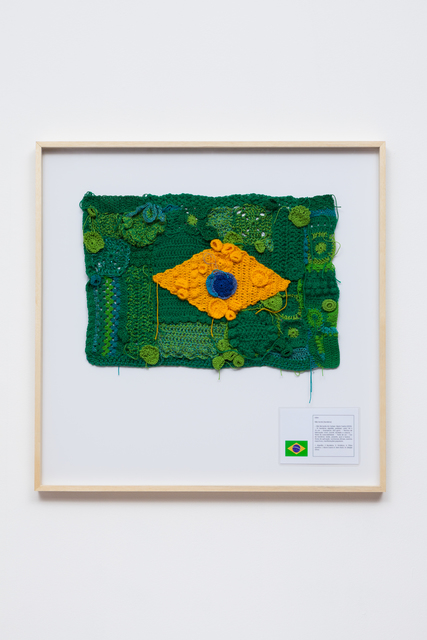 , 'National Flag #3,' 2015, Galeria Leme