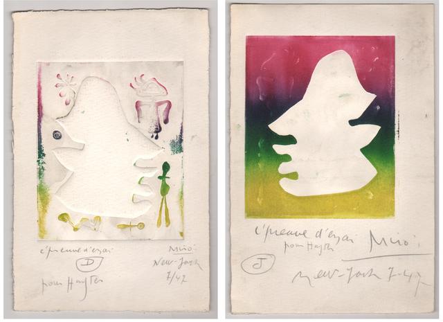 Joan Miró, 'L' Antitete ', 1947-1948, Dolan/Maxwell