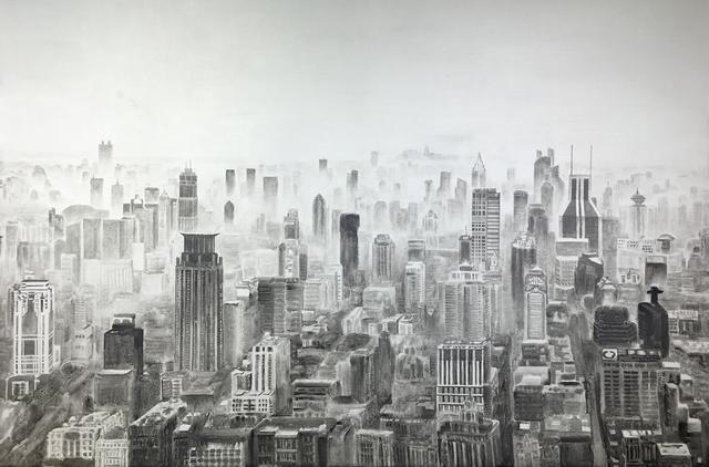 , 'New Classic of Mountains and Seas-Huangpu River view,' 2016, Boers-Li Gallery