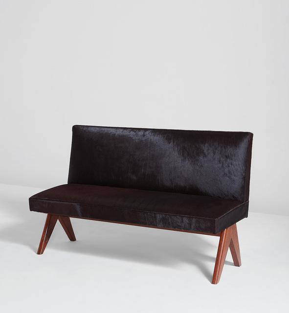 Pierre Jeanneret, 'Public bench, model no. PJ-SI-37-B', circa 1960, Phillips