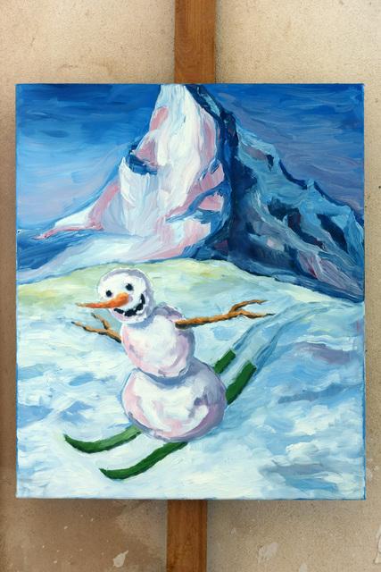 , 'Zermatt Groove,' 2016, Cultural Avenue