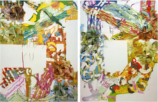 , 'clockwise,' 2002, Galerie Thomas