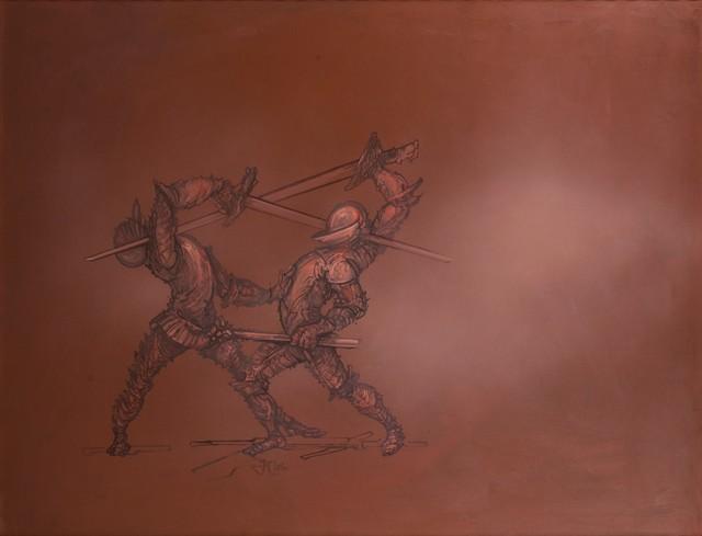 Fabrizio Clerici, 'Duel', 1996, Finarte