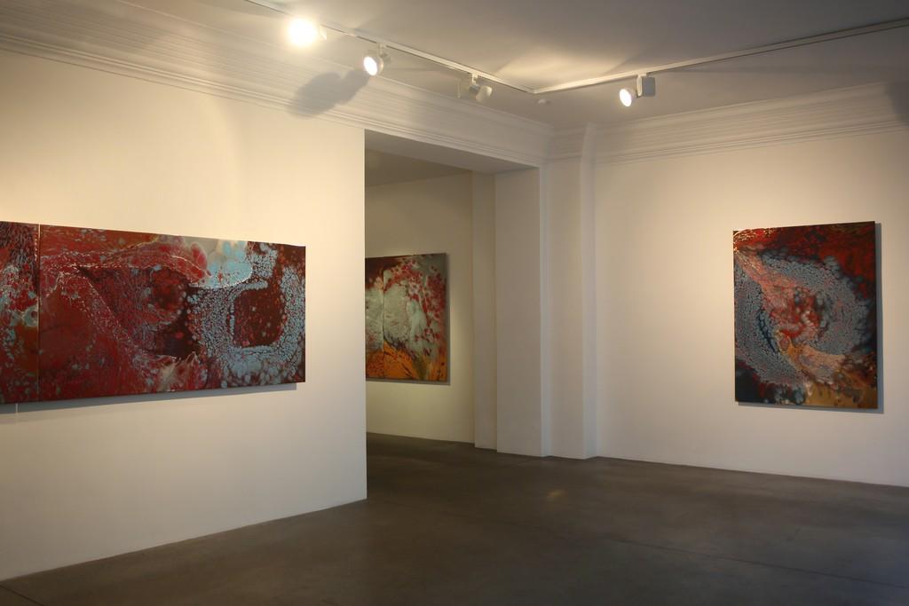 Installation view, Inner Logic. New Painting engineered by Thomas Schönauer, Engelage & Lieder, 2016