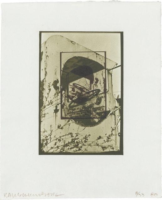 Robert Rauschenberg, 'WHITE PENDULUM (S. 105)', 1980, Doyle