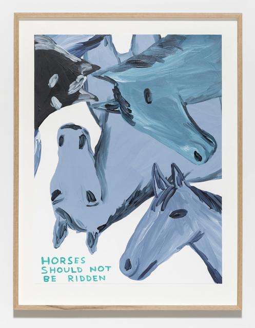 , 'Untitled (Horses),' 2019, Galleri Nicolai Wallner