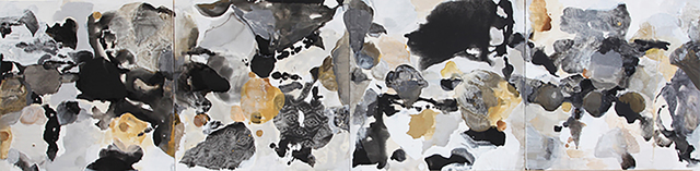 , 'Black, White, Gray, and Gold,' , FP Contemporary