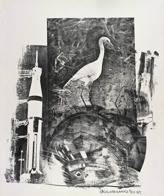 Robert Rauschenberg, 'Horn (Stoned Moon)', 1969, San Francisco Museum of Modern Art (SFMOMA)