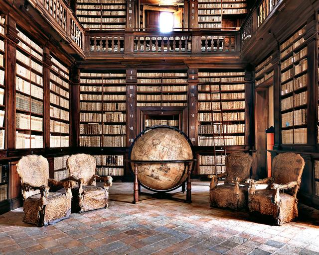 Massimo Listri, 'Biblioteca di Fermo, Italy', 2012, Holden Luntz Gallery