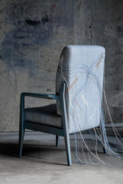 , 'Kaleidoscope chair,' 2018, The DOT home
