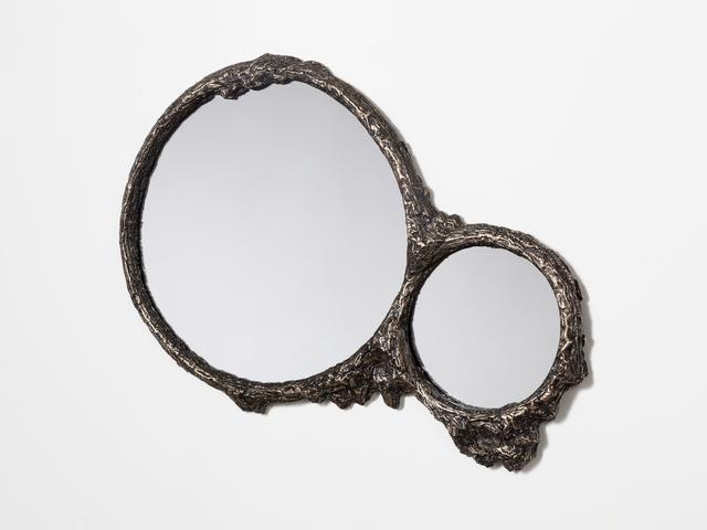 Steven Haulenbeek, 'Ice -Cast Bronze Double Mirror', Jeff Martin Joinery