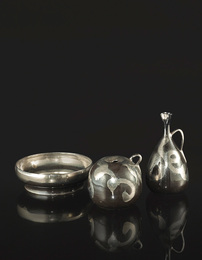 Jean Besnard, 'Two Handled Vases and a Coupe,' circa 1930, Sotheby's: Important Design