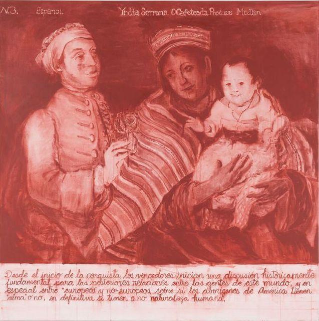 , 'PRODUCTO III (rojo  indio),' 2018, Galería Juana de Aizpuru