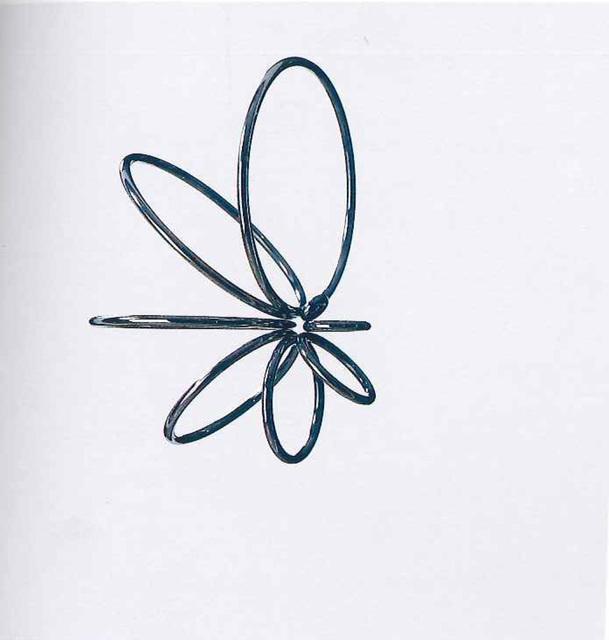 , 'Cerchi virtuali, rotazione concentrica,' 1967, Dan Galeria