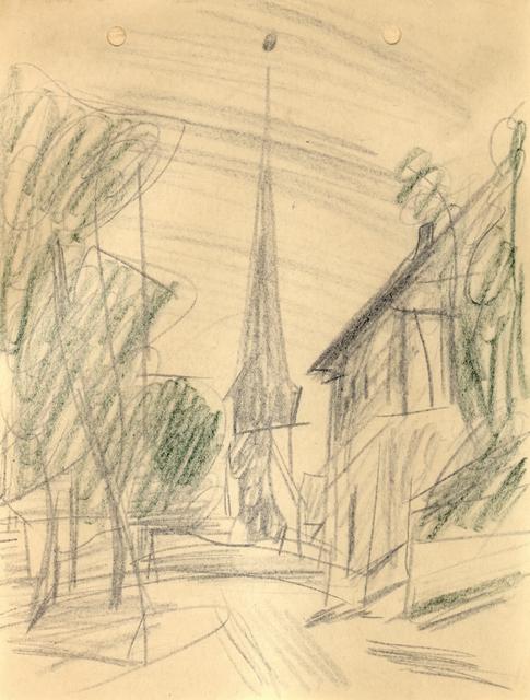 , 'Kirche in Gelmeroda,' 1913, Henze & Ketterer
