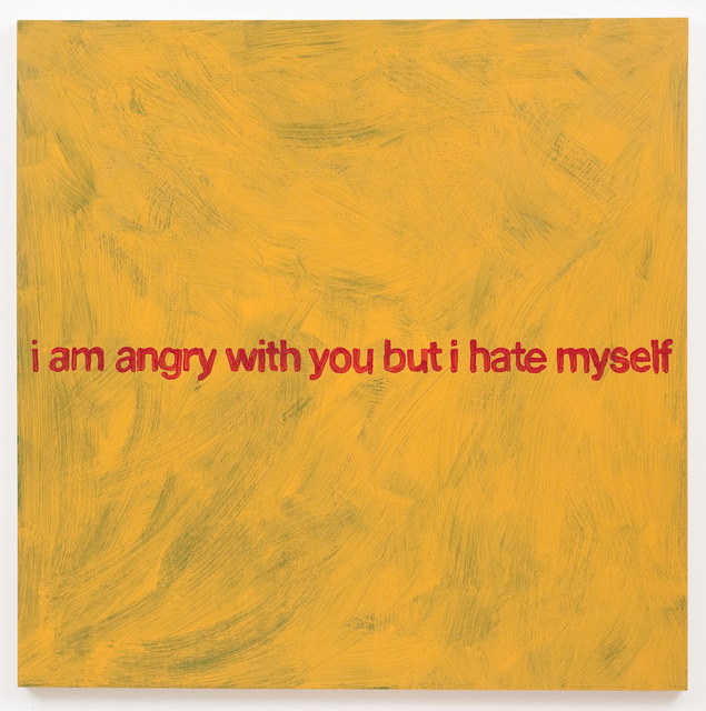 , 'I Am Angry With You,' 2013, Roberts & Tilton