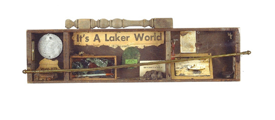 George Herms, 'Laker World', 1973, Seraphin Gallery