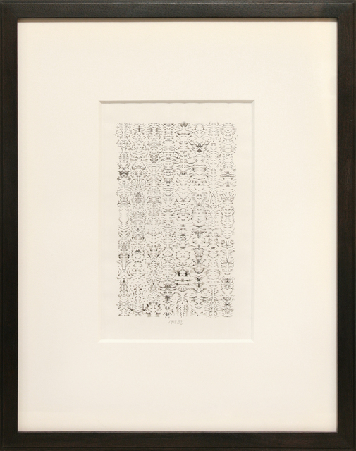 , 'INKBLOT DRAWING, JUNE 1, 1998,' 1998, Anglim Gilbert Gallery