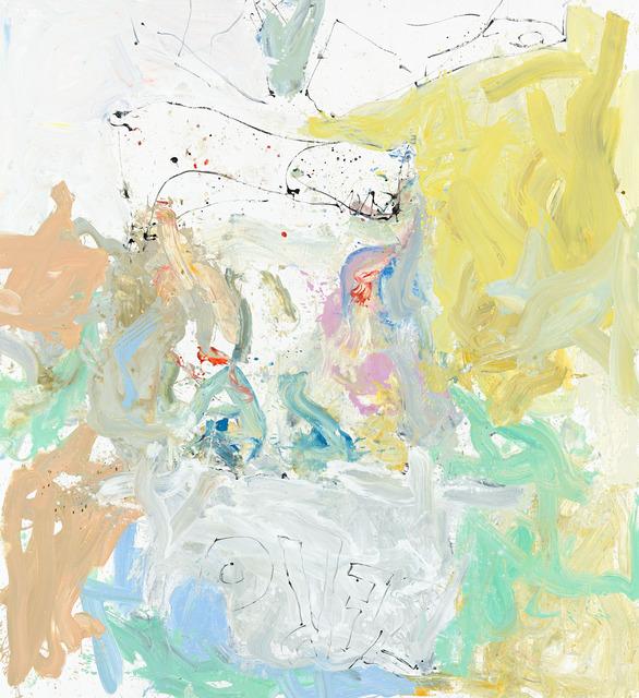 , 'mehr ich tut ach mer willn (Barle flel wil),' 2013, Gagosian Gallery