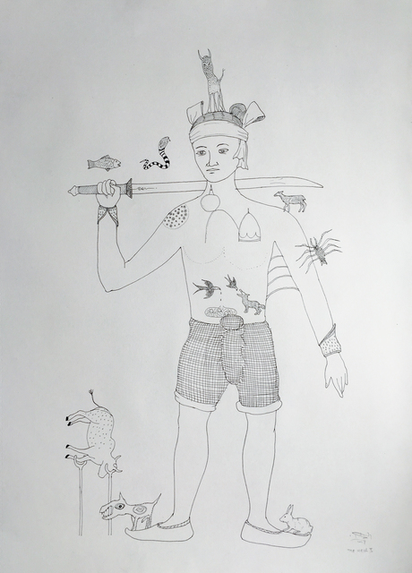 , 'The Heir II 繼承人 II,' 2018, Edouard Malingue Gallery