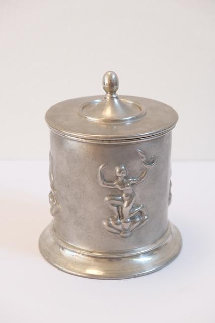 """Nils Fougstedt, '""""Swedish grace"""" jar in pewter', 1324, Angela Weber Moebel"""