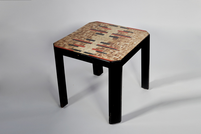 Jean Dunand, 'Art Deco Table', ca. 1920s, Design/Decorative Art, Lacquered eggshell, Chinese lacquered wood, Maison Gerard