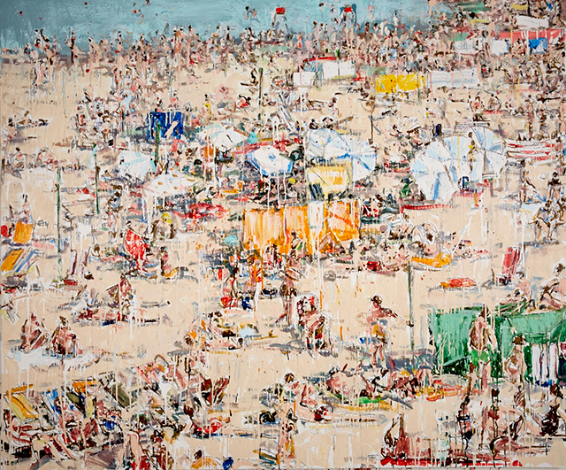 , 'Downtown Beach,' 2017, Craig Krull Gallery