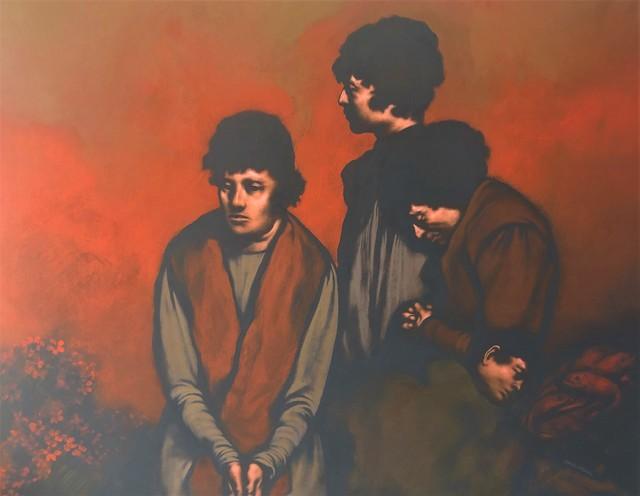 Rafael Coronel, ca. 1983, Painting, Acrylic on Canvas, Stern Fine Art