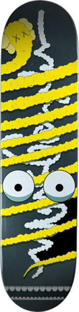 KAWS, 'Yellow Snake (Limited Edition, Numbered) Skate Deck', ca. 2005, Alpha 137: Prints & Exhibition Ephemera VI