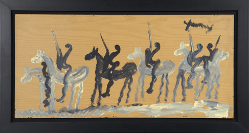 Untitled (horses and riders)