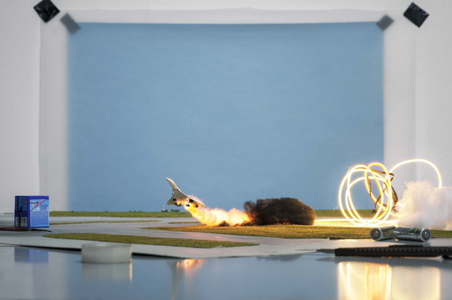 """, 'Making of """"Concorde"""" (by Toshihiko Sato, 2000),' 2013, East Wing"""