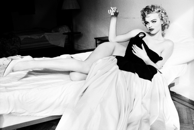 , 'Smoking in bed, Eva Herzigova,' 1994, Opera Gallery