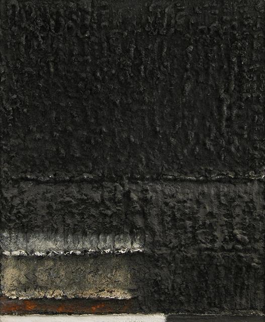 , 'Black to Black,' 1954, Weinstein Gallery