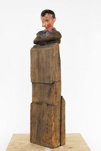 , 'Pinocchio Bust,' 2010, Galerie de Bellefeuille