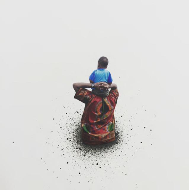 , 'Untitled (Boy and Father),' 2016, Diane Rosenstein