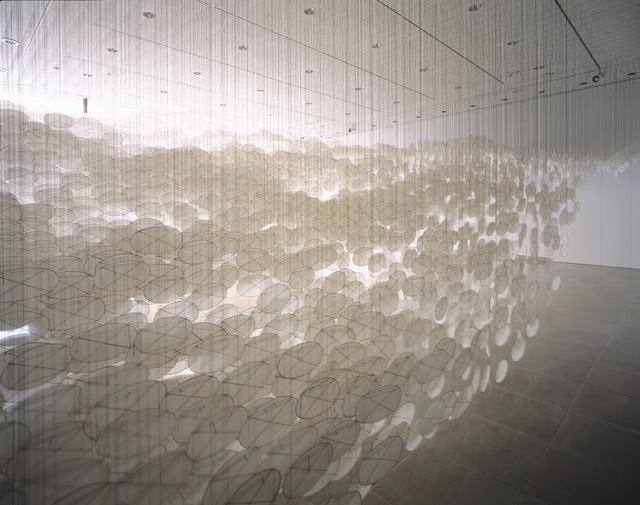 , 'Superabundant Atmosphere,' 2005, Rice University Art Gallery