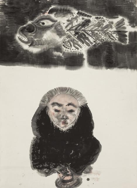 , 'Fish and Man 鱼与人,' 1993, Ink Studio