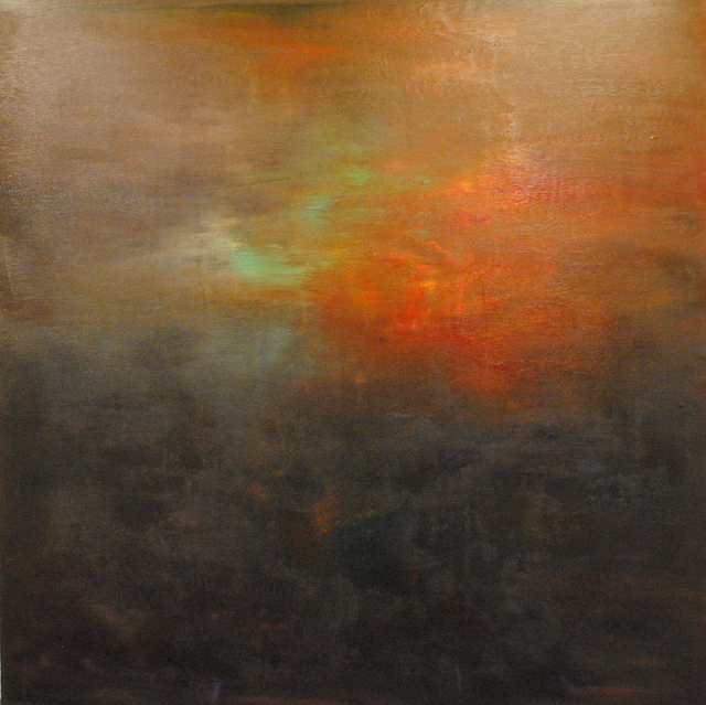 MD Tokon, 'Forest Sunset 1', 2013, Painting, Acrylic on Canvas, Isabella Garrucho Fine Art