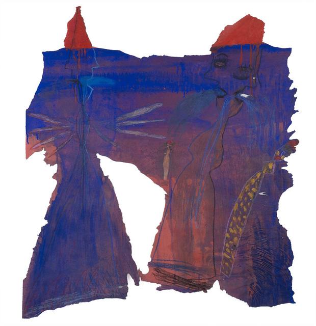 , '2 blaue Figuren (2 Blue Figures),' 1996, Cavin Morris Gallery