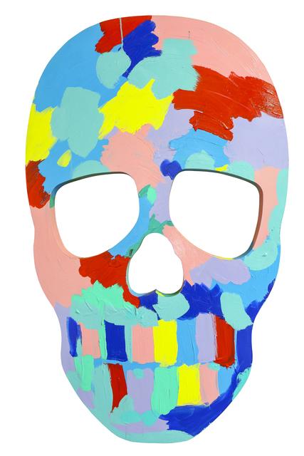 , 'Skull Face I,' 2017, Maddox Gallery