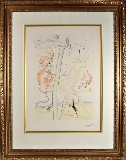 Salvador Dalí, 'Le Singe et le Leopard', 1976, Joseph Grossman Fine Art Gallery