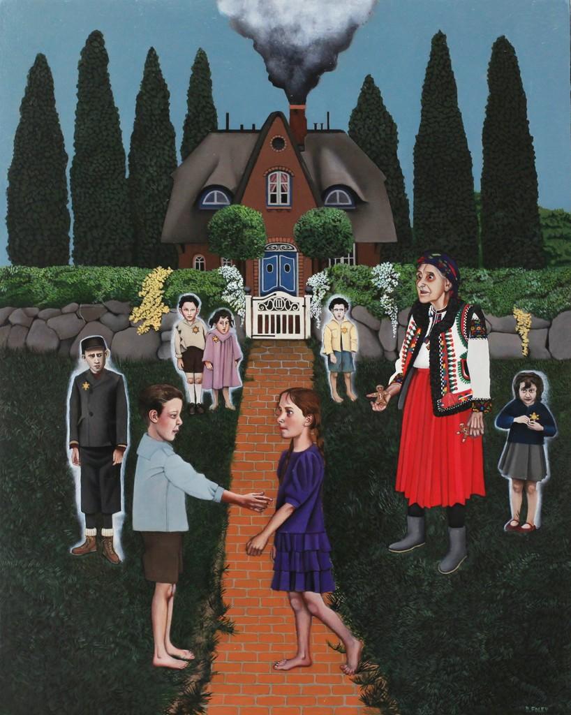 Hansel, Gretel, and the Ghost Children