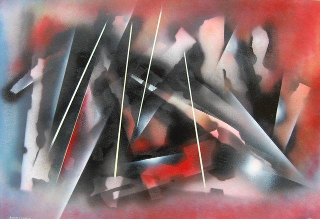 , 'Allegory of the Blitz I,' 2015, Robert Eagle Fine Art