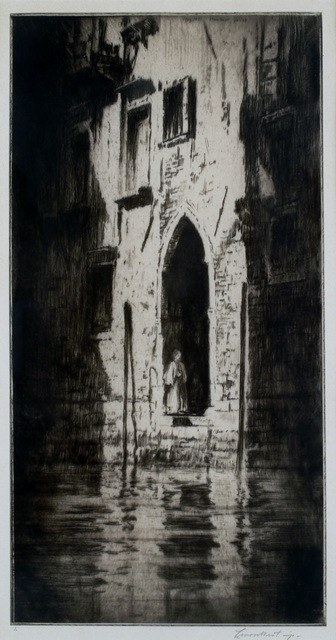 Levon West, 'Doorway, Venice', 1931, Private Collection, NY