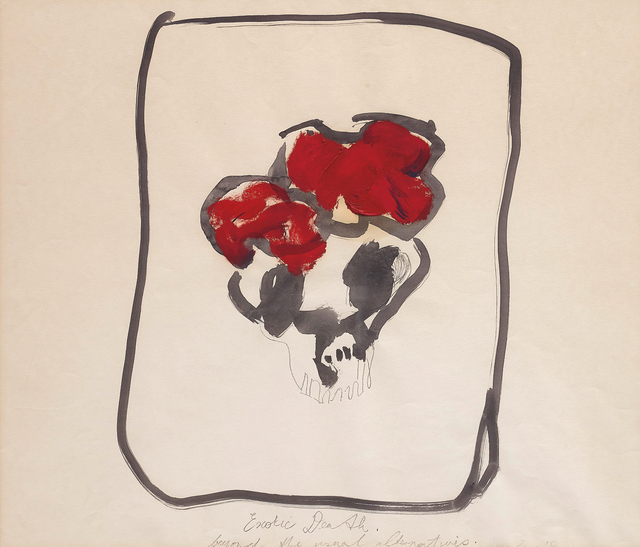 Marlene Dumas, 'Exotic Death, Beyond the Usual Alternatives', 1984, Phillips