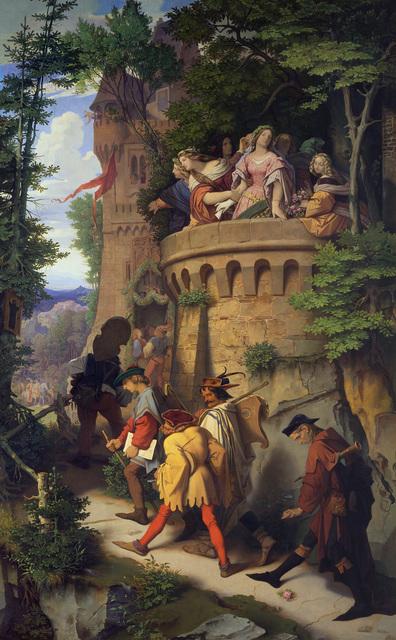 , 'The Rose,' 1846-1847, Alte Nationalgalerie