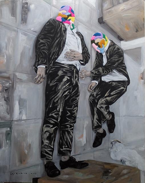 , 'Berdiri Dengan Cara Terlentang (Standup by Laying),' 2017, Redbase Art