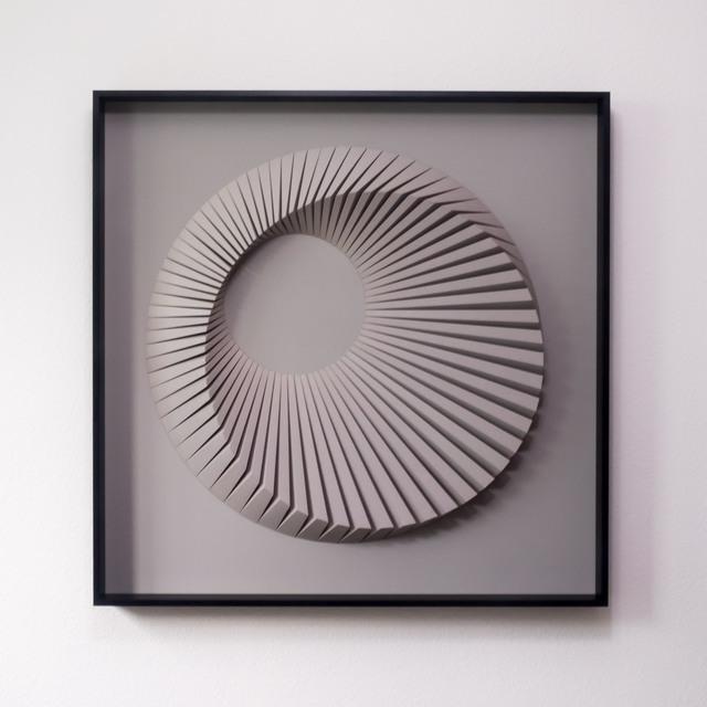 , 'Eclipse D Grey,' 2018, Contempop Gallery